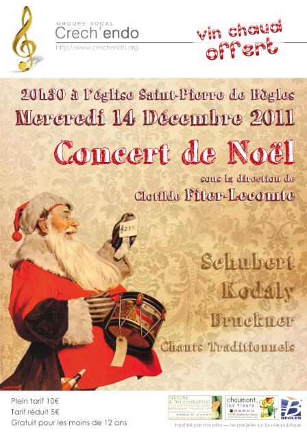 CONCERT DE NOEL 2011